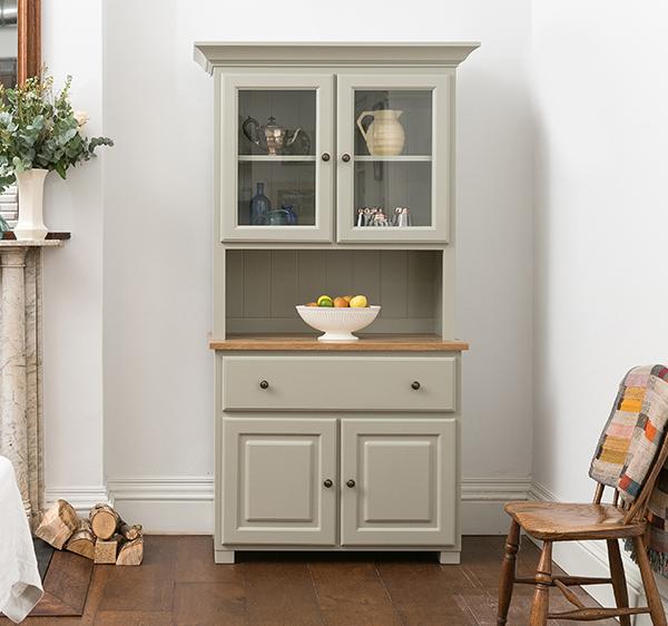 Green Kitchen Dresser